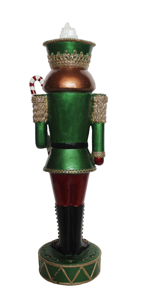 Nutcracker with Leds 21.25 Inch High