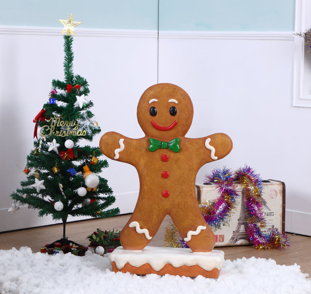 Gingerbread Boy Statue