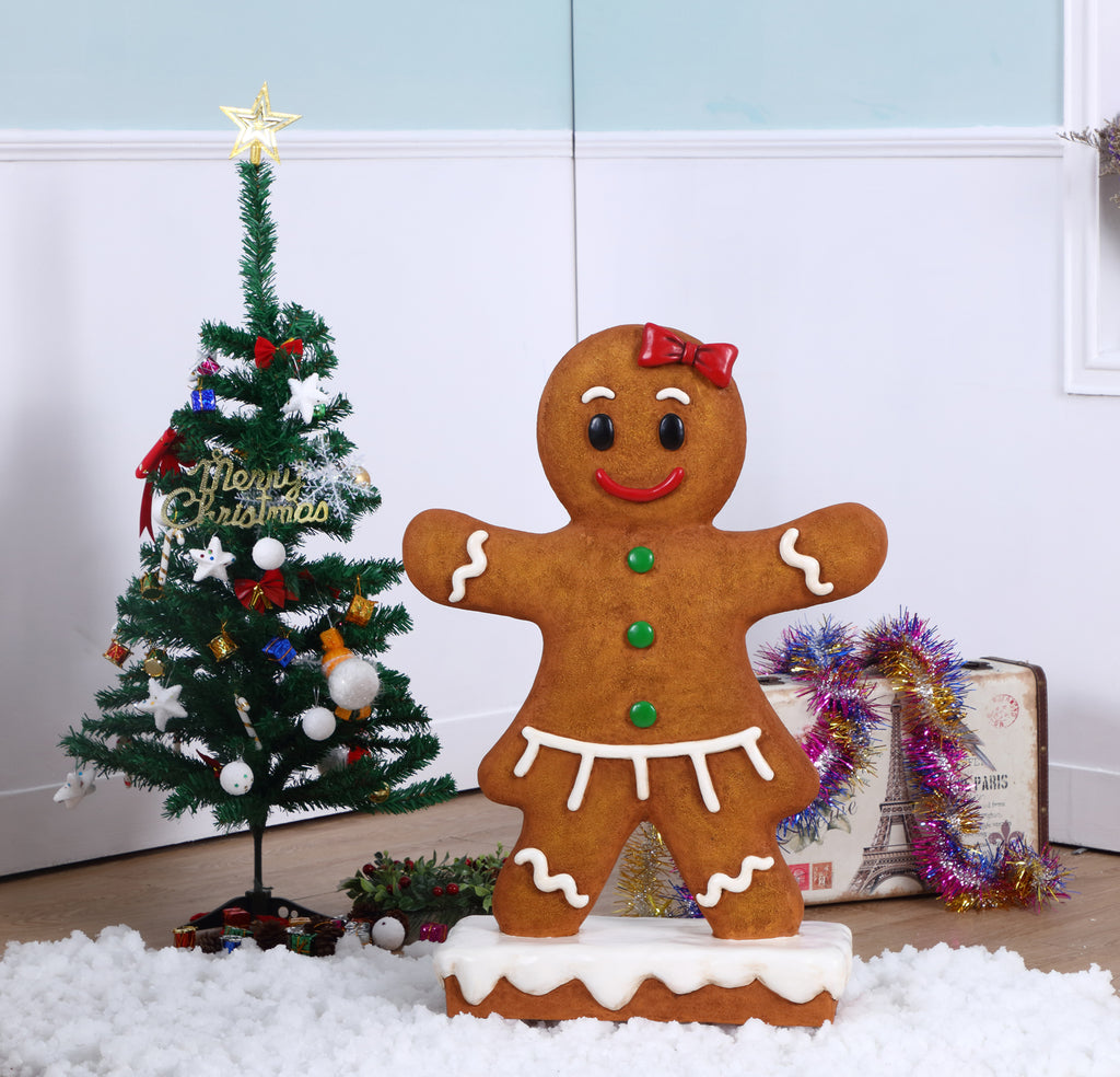 Gingerbread Girl Statue
