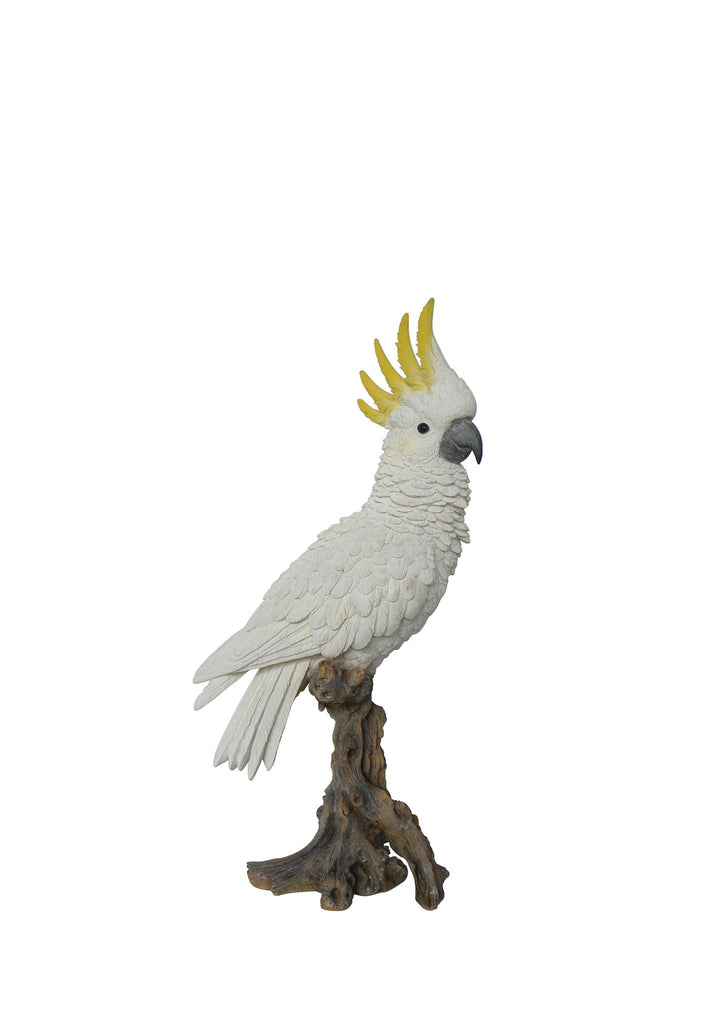 Cockatoo Bird Statue on a Branch