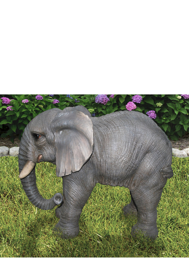 Buy Elephant Garden Statue Standing For Sale Online In Usa