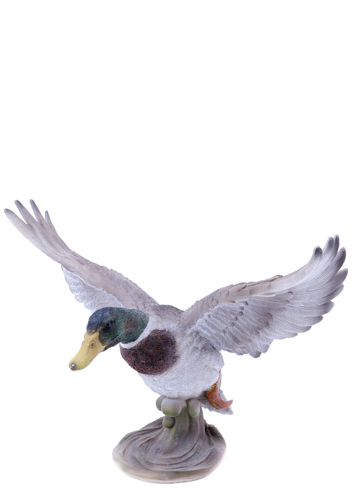 Flying Duck Garden Statue