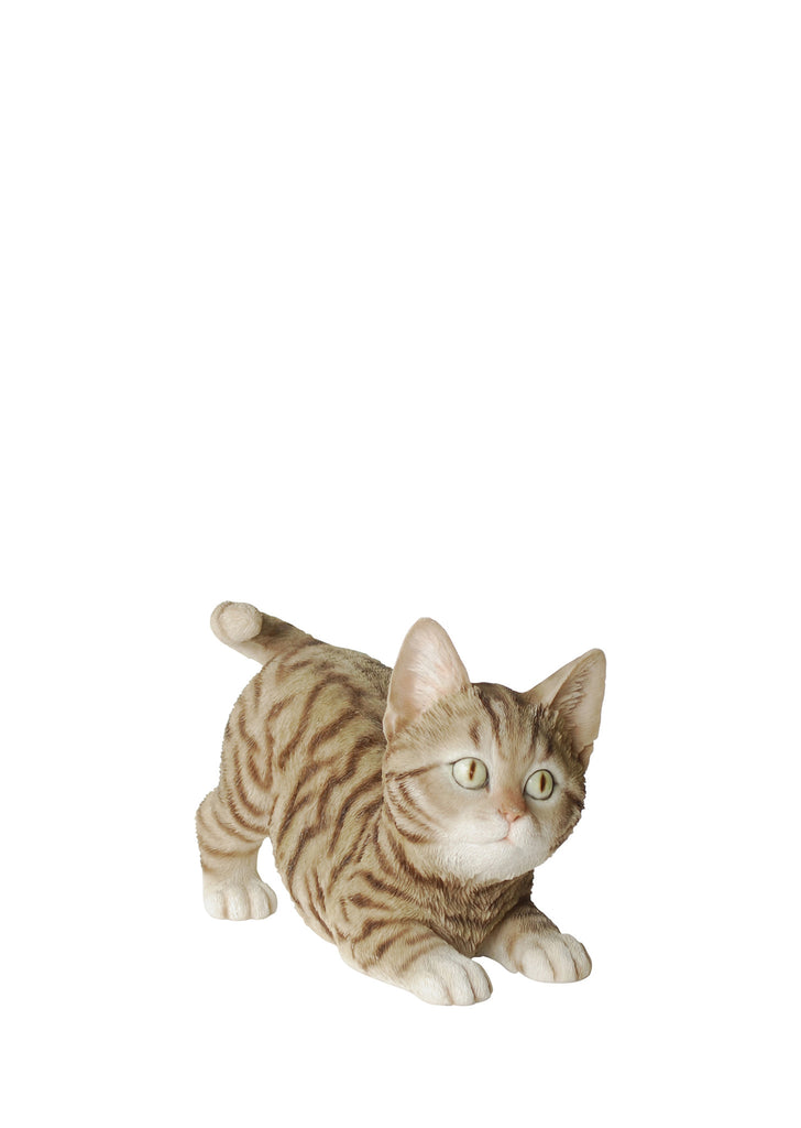 Kitten Garden Statue Playing