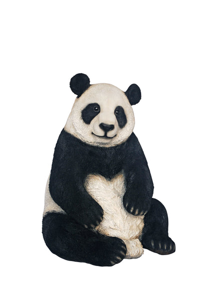 Buy Giant Panda Garden Statue Sitting For Sale Online In