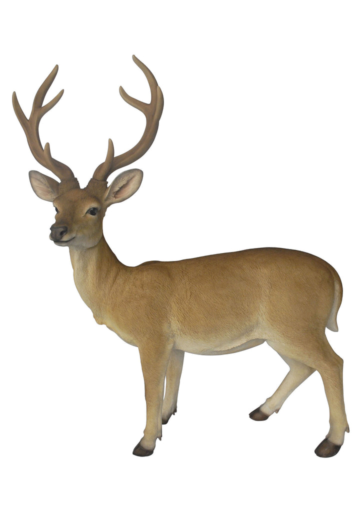 Buck Deer Garden Statue - Large