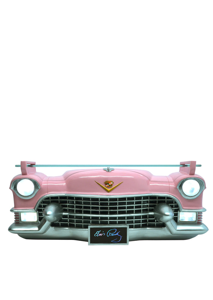 Elvis Pink Cadillac Car Shelf