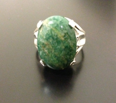 African Jade Ring - LAQUOR