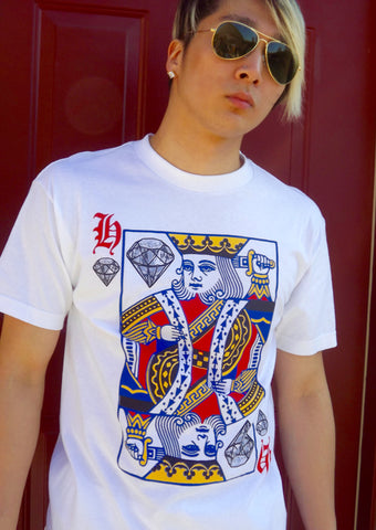 King of Diamonds T-shirt - LAQUOR - 1