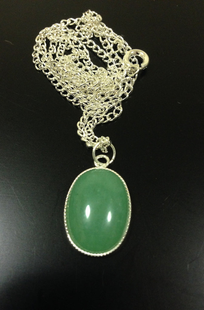 Green Aventurine Necklace - LAQUOR