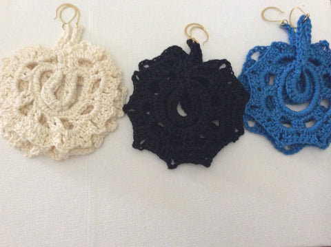 Crochet Earrings - LAQUOR - 1