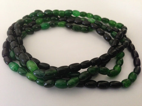 Dark Green and Black Malaysian Jade
