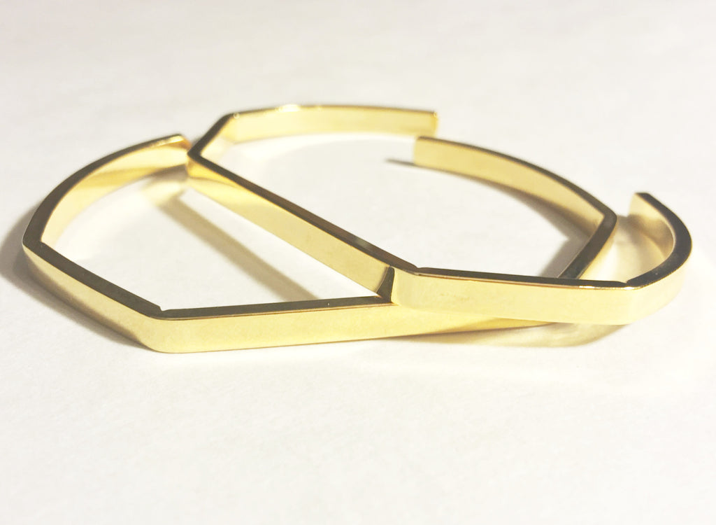 Gold Cuff - LAQUOR