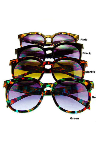 Oversized Butterfly Sunnies - LAQUOR - 1