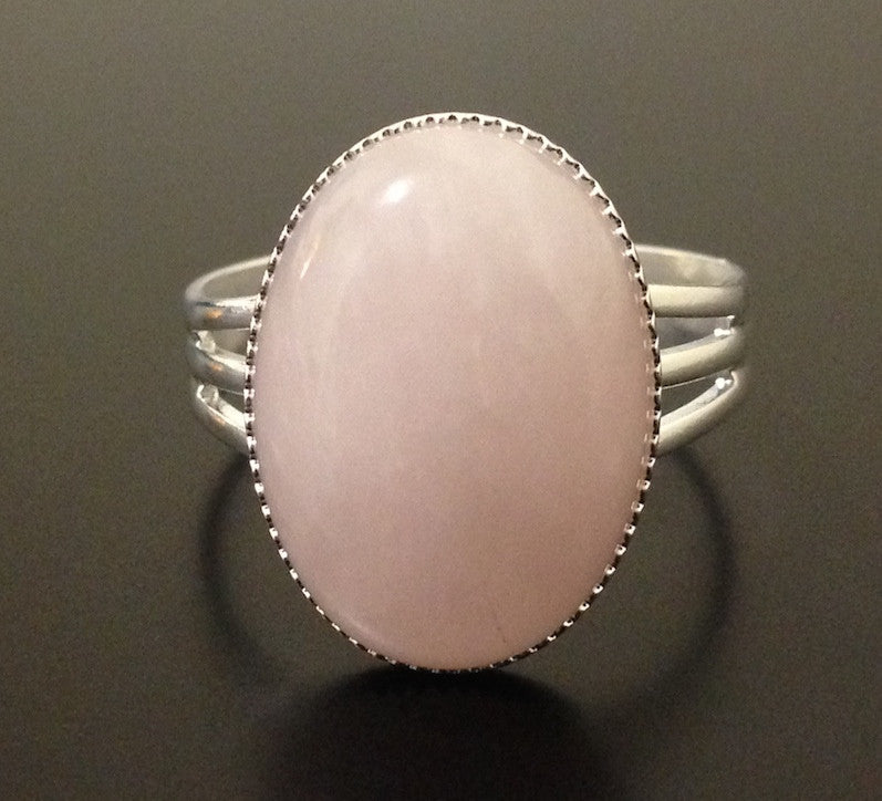 Rose Quartz Ring - LAQUOR