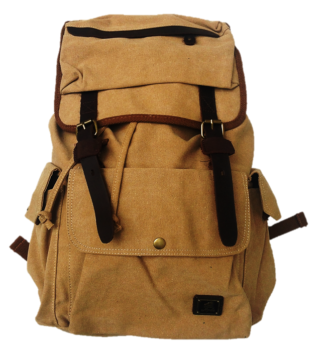 Large Travel Backpack - LAQUOR - 1