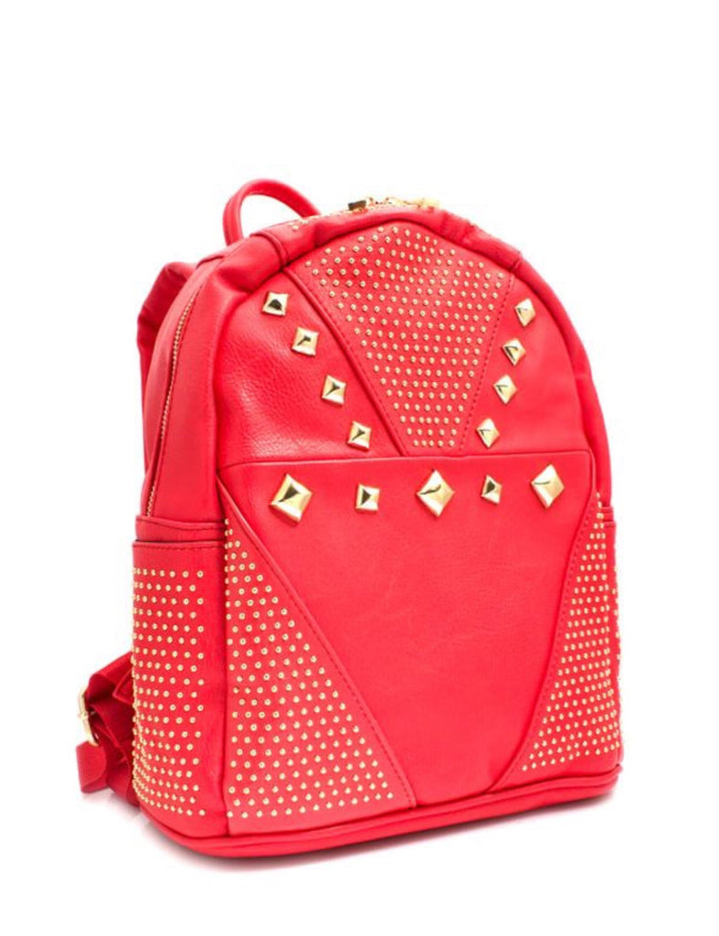 Studded Mini Backpacks - LAQUOR - 1