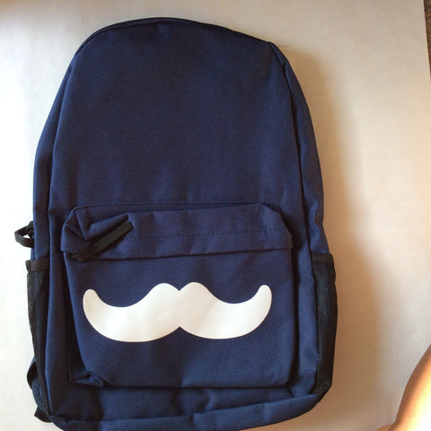 Mustache Backpack - LAQUOR - 1