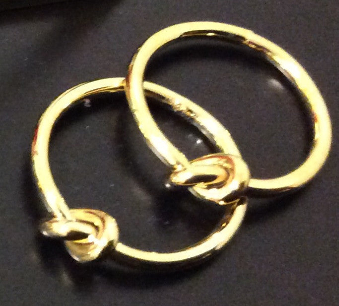 Gold Knot Middie ring - LAQUOR