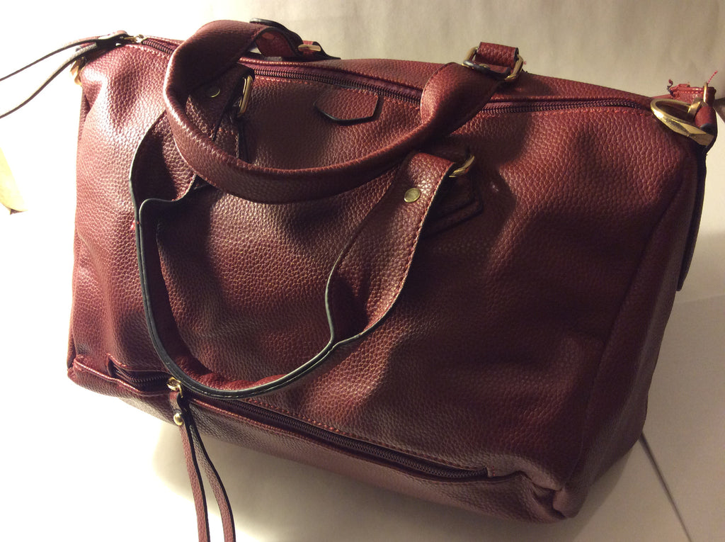 Cranberry Satchel - LAQUOR - 1