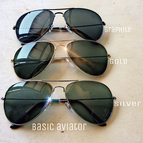 Basic Aviator - LAQUOR