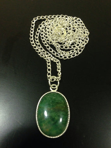 African Jade Necklace - LAQUOR