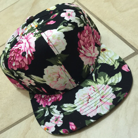Floral Hat - LAQUOR - 1