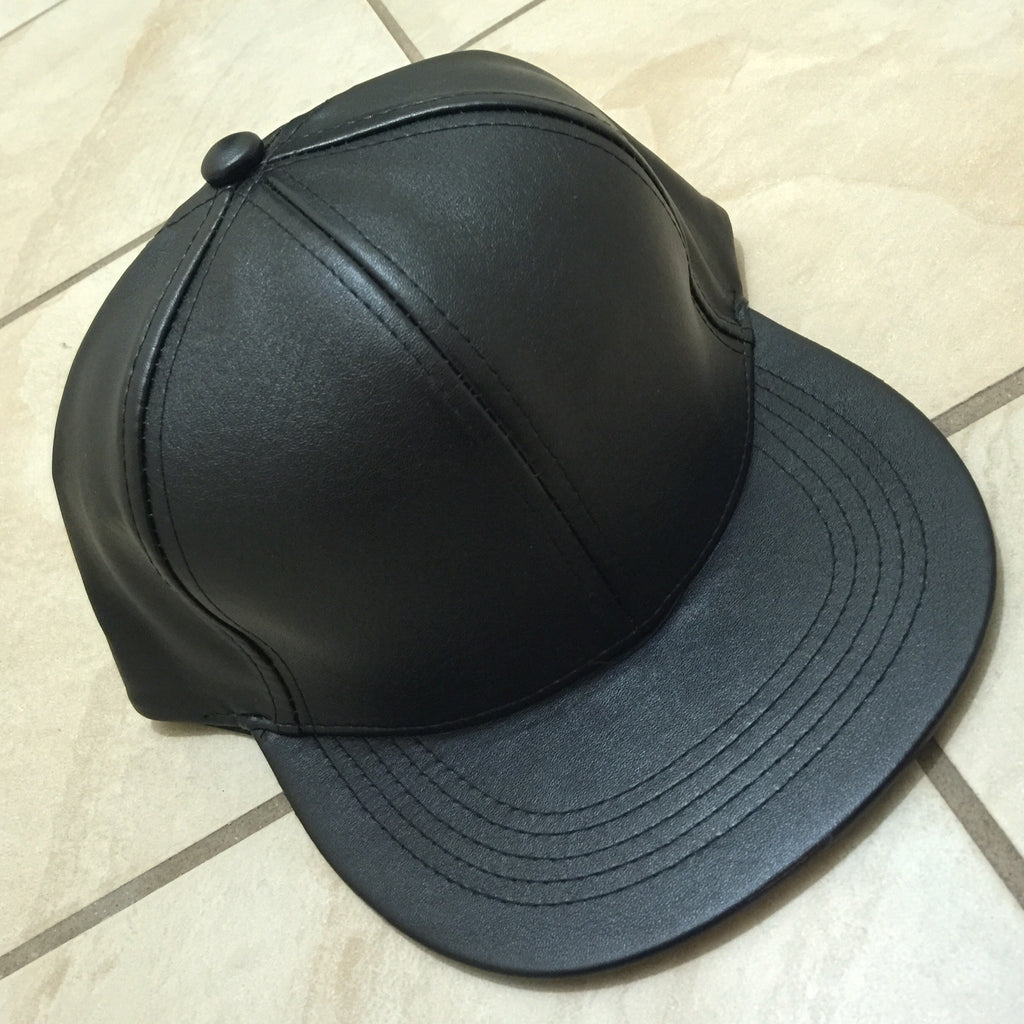 Faux Leather SnapBack - LAQUOR - 1