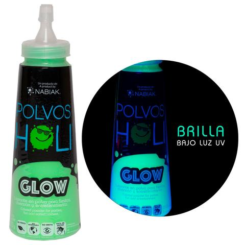 Botella Squeeze Holi Glow Verde 150gr