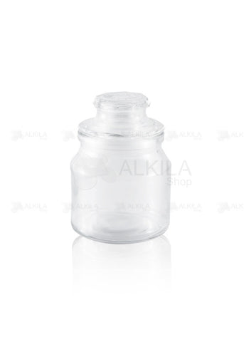 Brocalito de Vidrio con Tapa (150 ml) - Alkila Shop