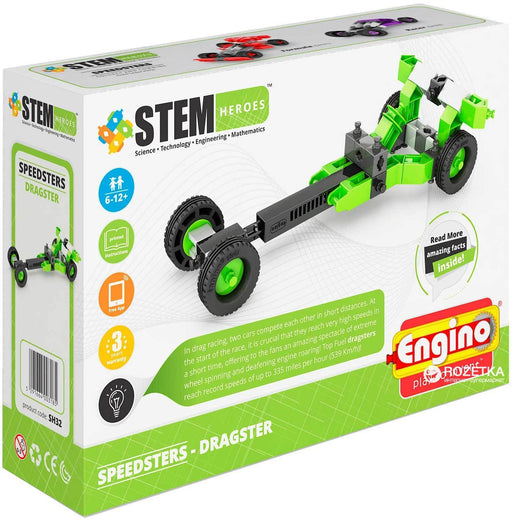 Juguete Didactico Armable Engino Dragster Juguetes Grupo Educar