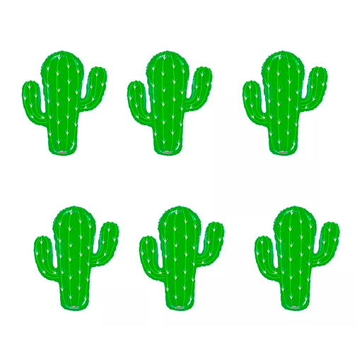 Globos de Cactus Qualatex (6Pz)