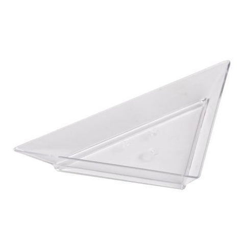 Platito Triangular (11 x 7.5 Cm) (50 Pzas) - Alkila Shop