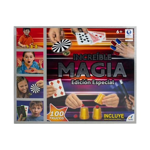 Set de Magia 100 Trucos Novelty