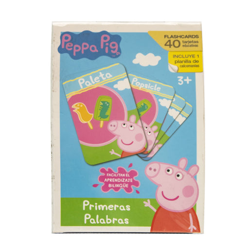 Flash Cards Primeras Palabras Peppa Pig Novelty
