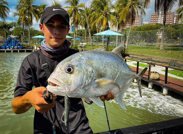 GT hooked onto the Rapala MaxRap Walk N Roll 10