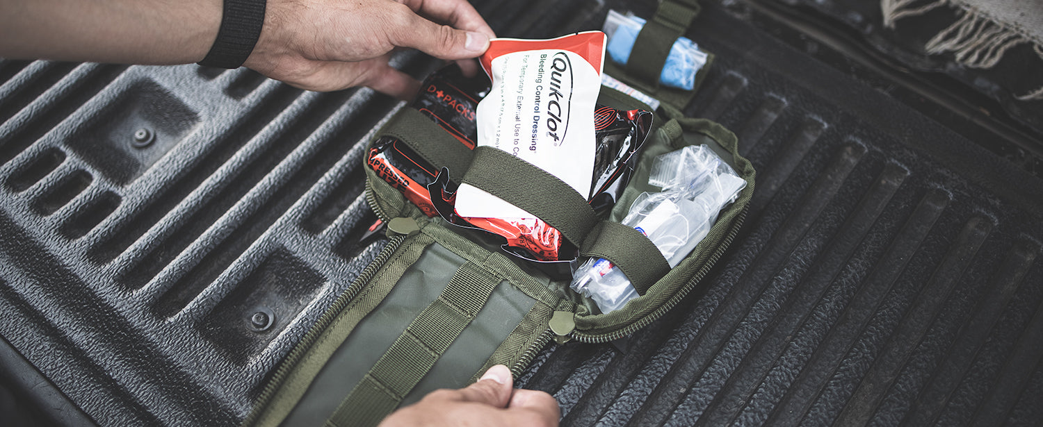 All trauma treating essentials packed into one small pack