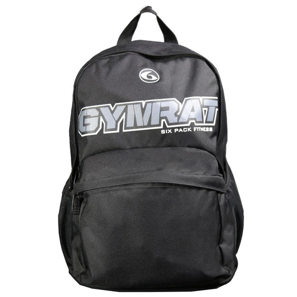 Gym Rat Athletic Backpack Non-Meal Black - 6PackFitnessGear