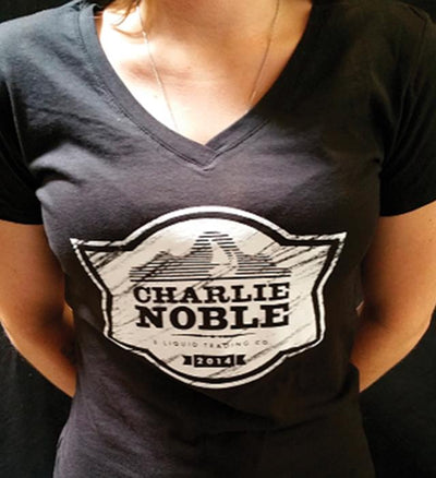 Charlie Noble - Women's V-Neck T-Shirt
