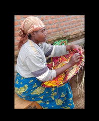 Rwandan Basket Making