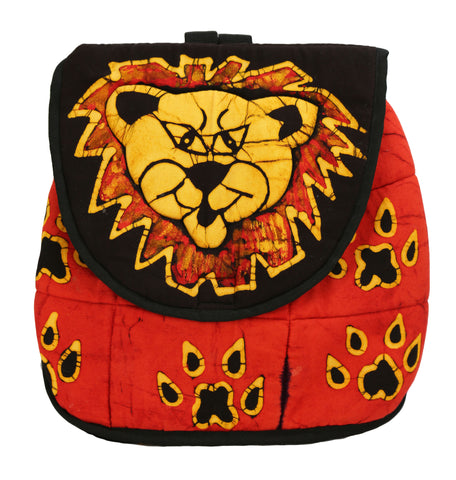 Batik Lion Backpack