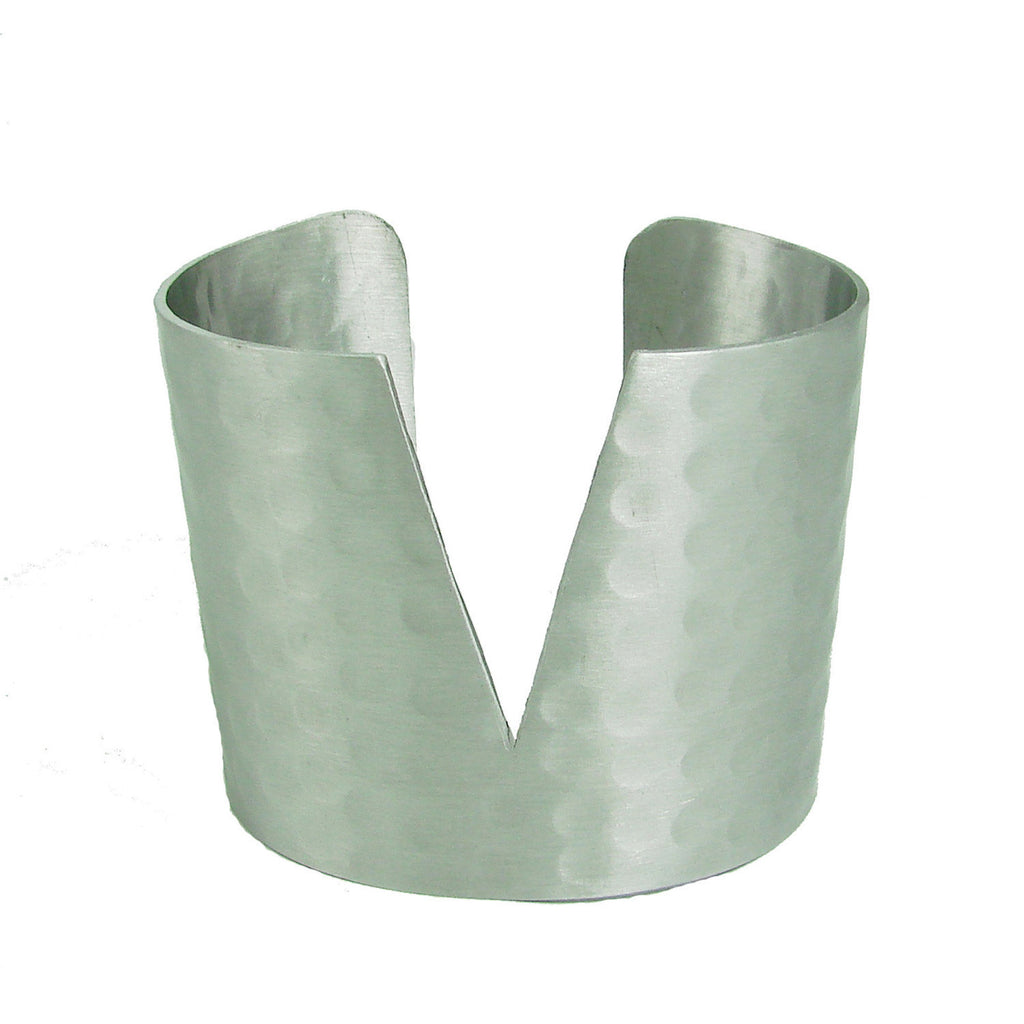 Triangular Cuff - silver - India