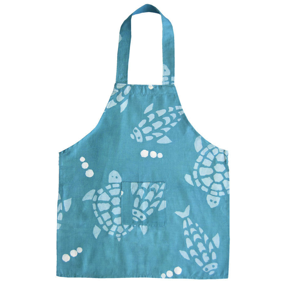 Kids Apron -Fishy Turtles - Ghana