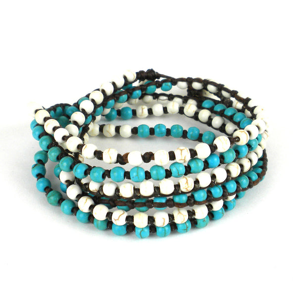 Clear Water Wrap Bracelet - Thailand