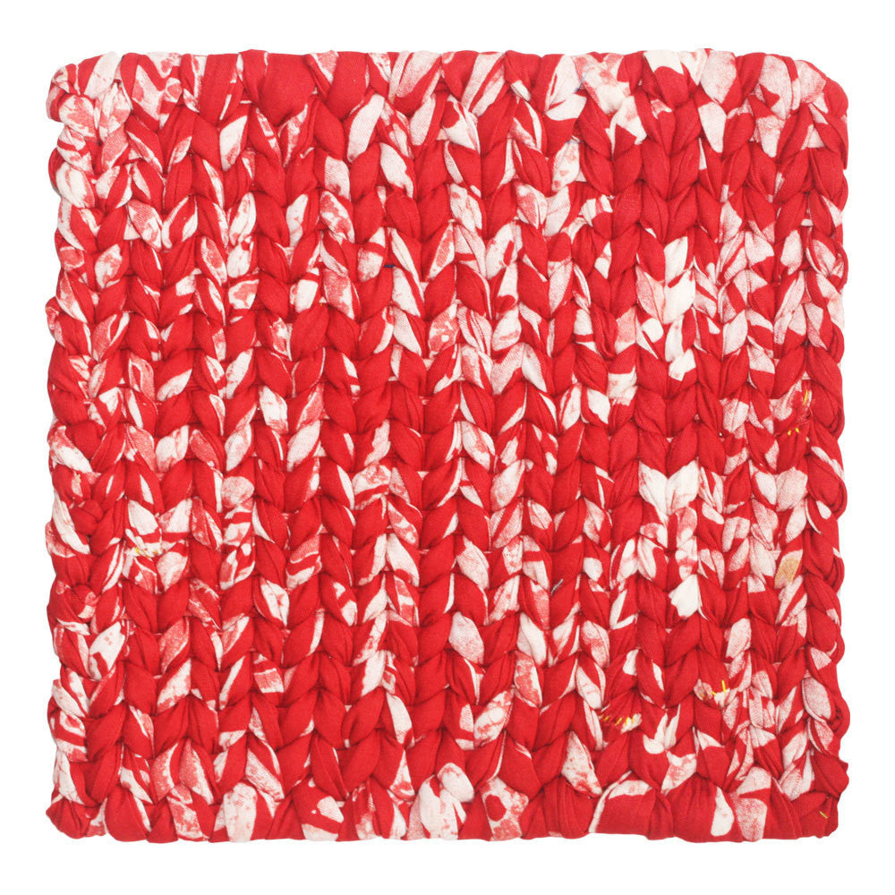 Recycled Fabric Trivet Red - Ghana