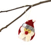 Hand Felted Christmas Ornament: Santa - Nepal