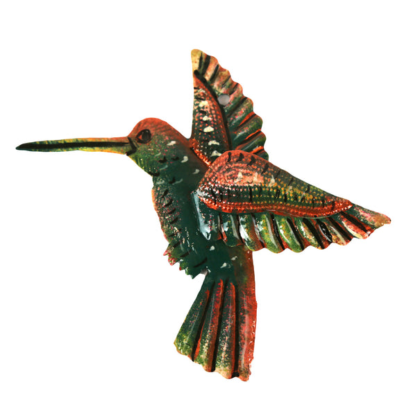 Multi Dimensional Painted Hummingbird - Haiti