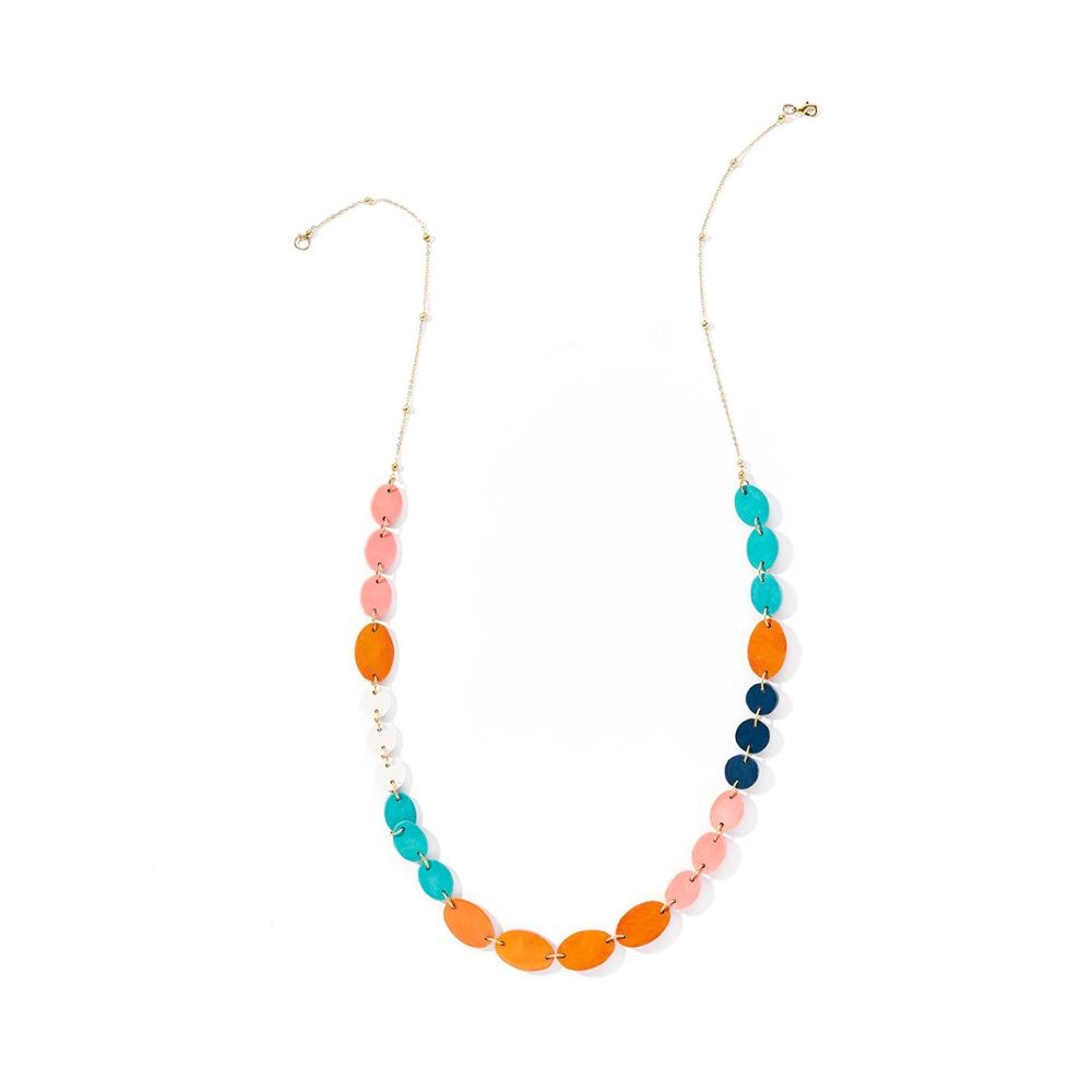Ria Necklace - Multi - India
