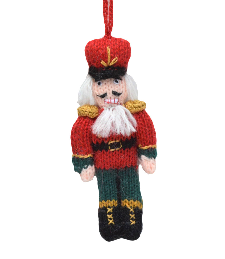 Nutcracker Ornament Green Pants - Peru