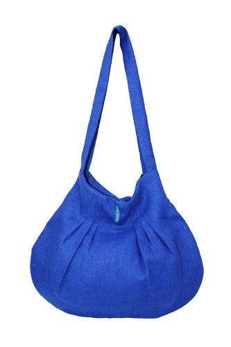 Blue Linen Purse - Moldova