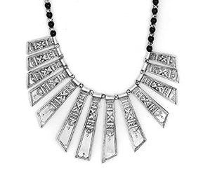 Fine Sterling Silver Classic Celebra Necklace - Niger
